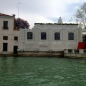 The beautiful Palazzo Venier dei Leoni from the water