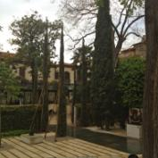 The garden of the Peggy Guggenheim Collection